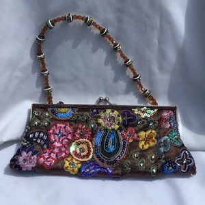 La Regale Bejeweled Handbag